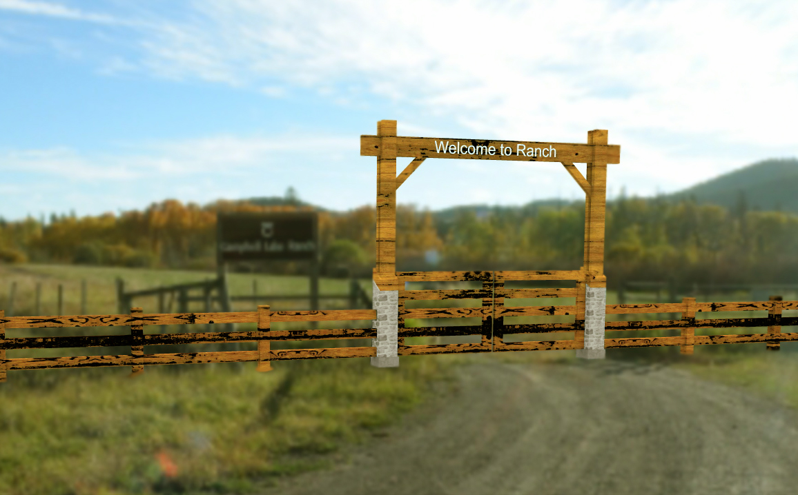 Texas ranch gate designs quotes for Ranch entrance designs