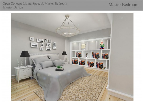 Bedroom Designed By Fatjona Fatjona Open Concept Living Space Master Bedroom Interior Design
