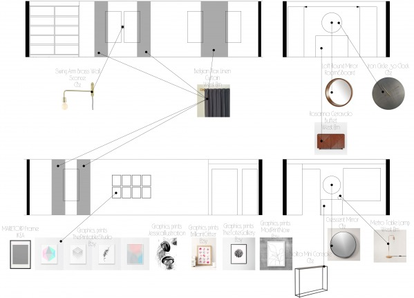 Image Sections with furnitur...