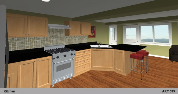 Kitchen 1 Rendering