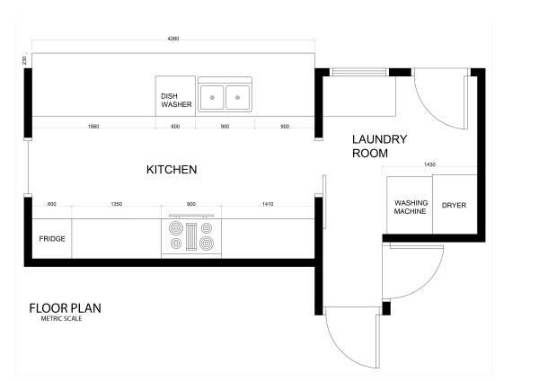 Image Floor Plan, lighting a...