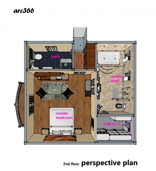 Image 2nd floor perspective ...