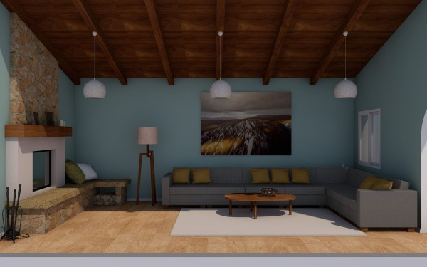 Image Layout of Living Space...