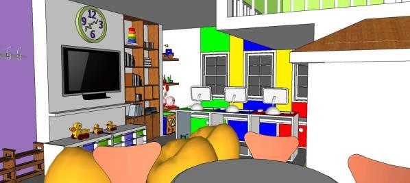 Image Fun Kids Play Room wit...