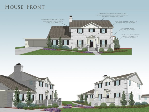 porch designed by anonymous house front charlotte us. Black Bedroom Furniture Sets. Home Design Ideas