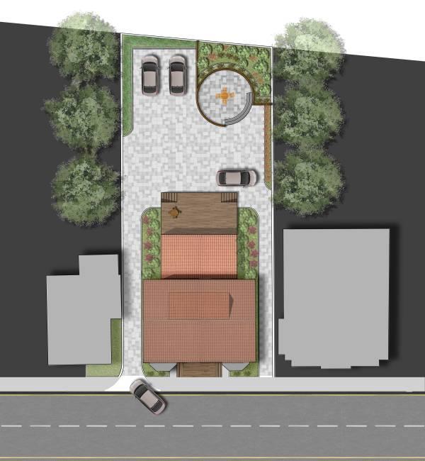 Image Driveway concept plan