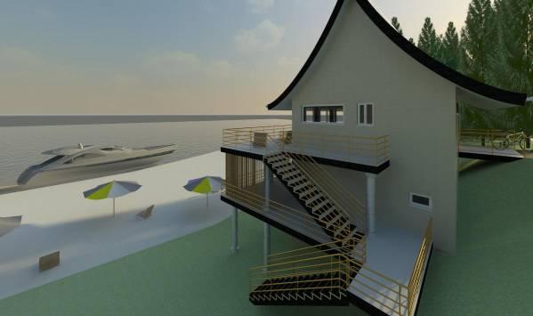 Image Seaside cottage elevat... (1)