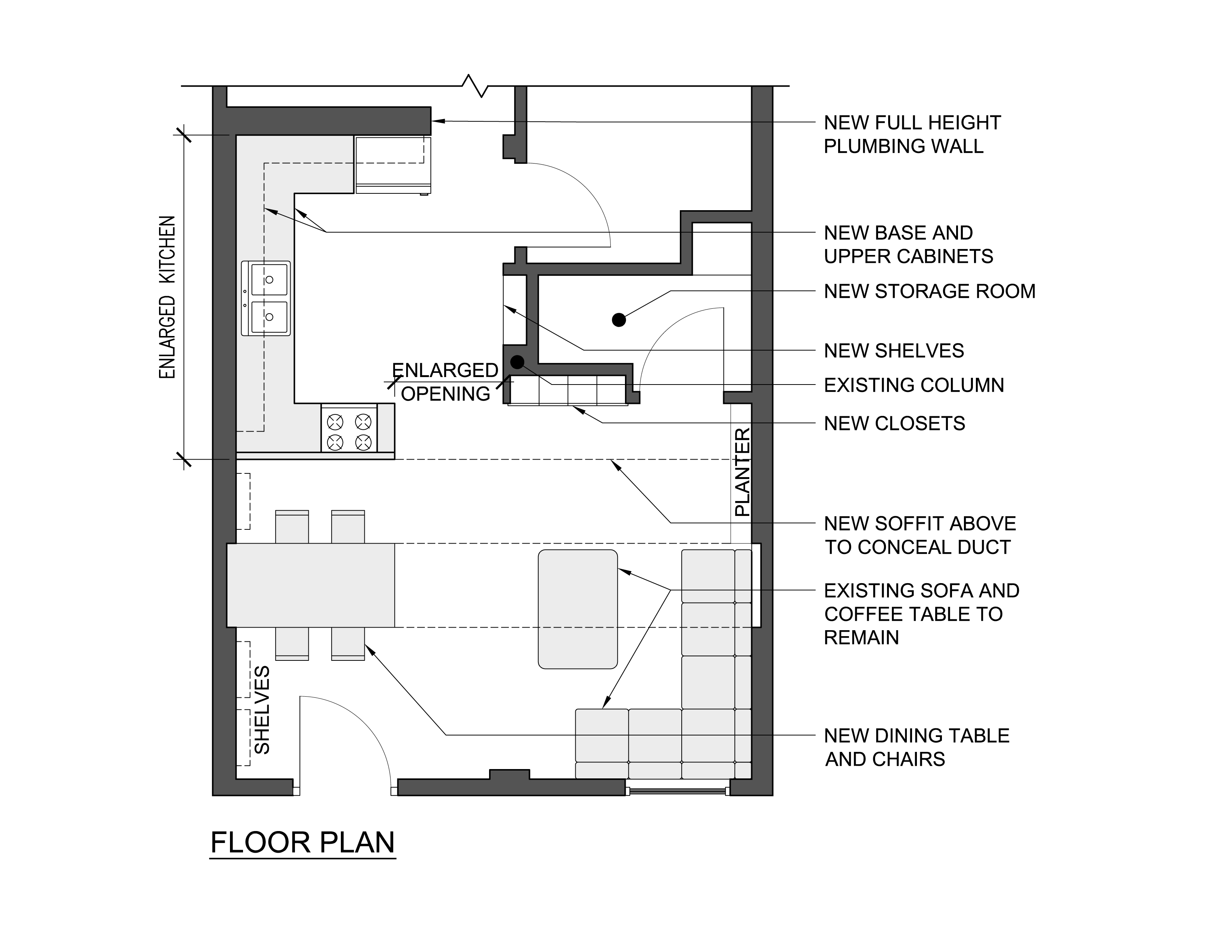 Viewdesignerproject projectfloor plans for Small living space floor plans