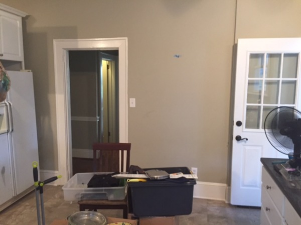 Image wall to rest of house