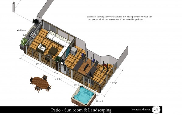 Image Isometric drawing of t...