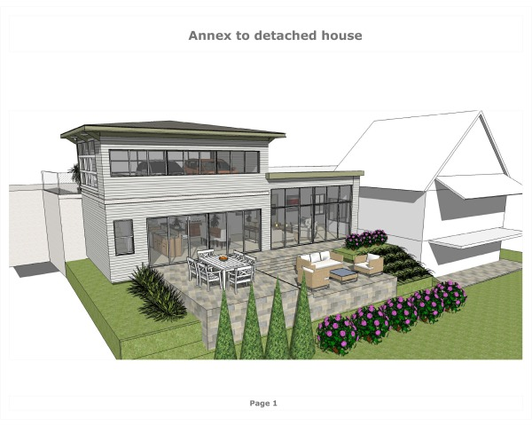 Image Annex to detached house