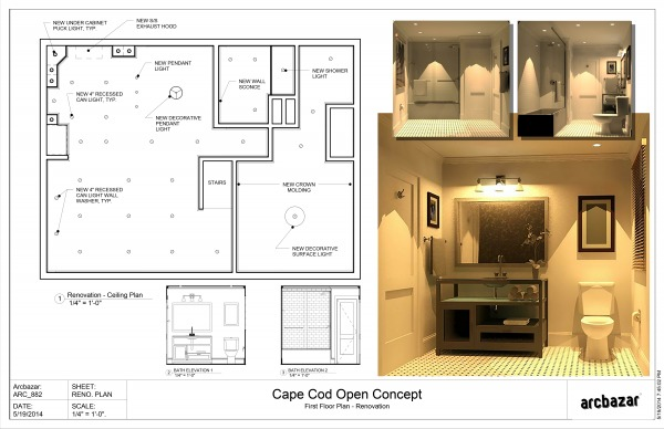 Image Ceiling Plan &...