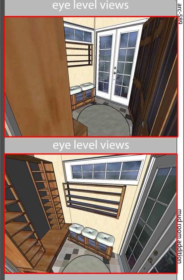 Image eye level view