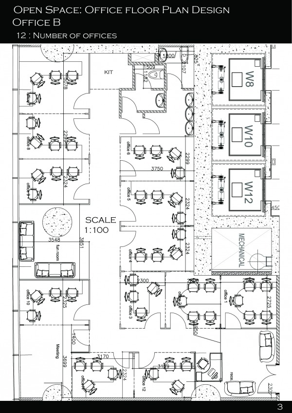 Image Office plan design for...