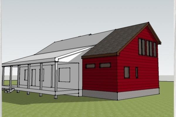 SketchUP Model showing...
