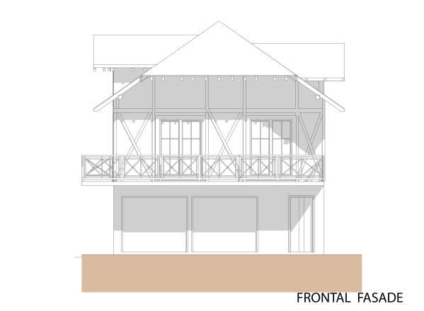 Image Frontal facade