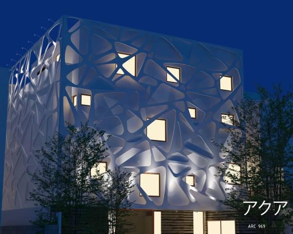 Image TAKANAWA HOUSE Facade ...