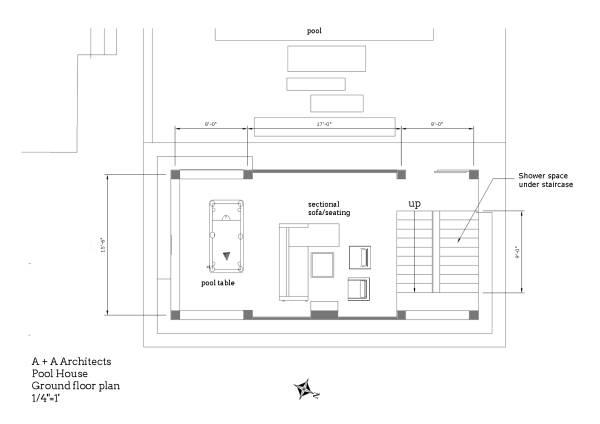 Image Craftsman pool house a... (2)