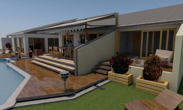 Image New Backyard Deck and ... (1)
