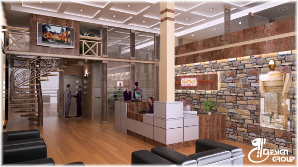 Image VIEW OF THE MAIN LOBBY...