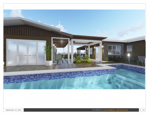 Image Covered Walkway / Pool... (1)