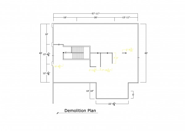 Image demolition plan
