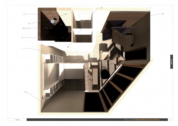 Image Modern Miami Townhouse... (1)