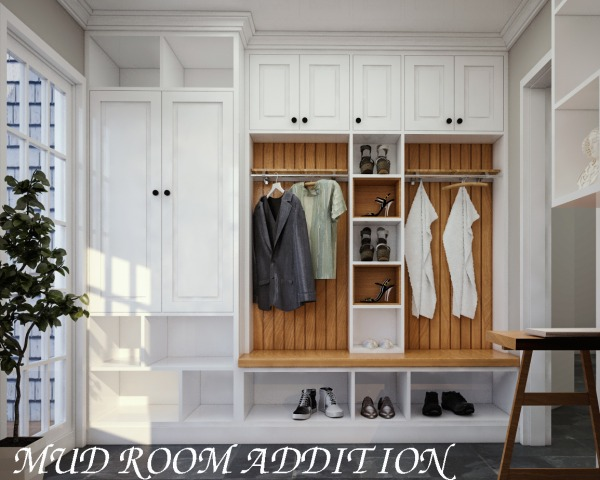 Image mud room addition