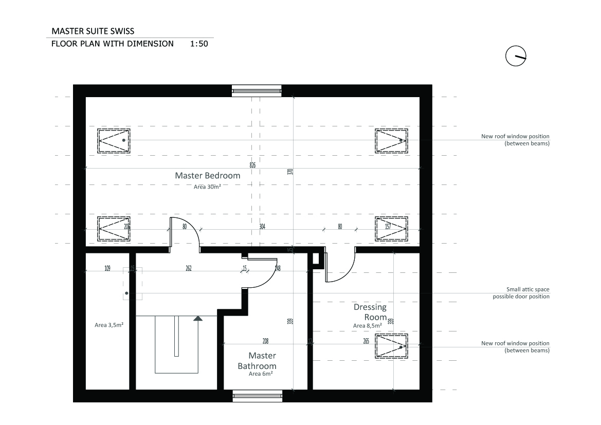 Viewdesignerproject Projectattic Conversion Designed By Ana Macura Master Suite