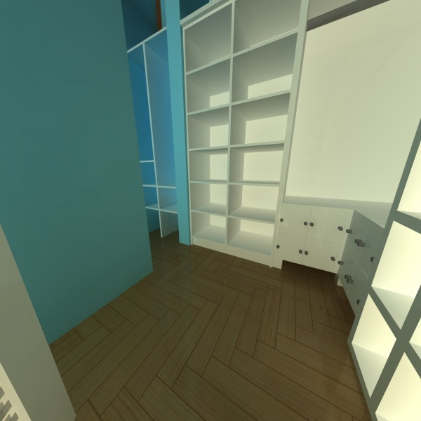Image View in walk  in closet
