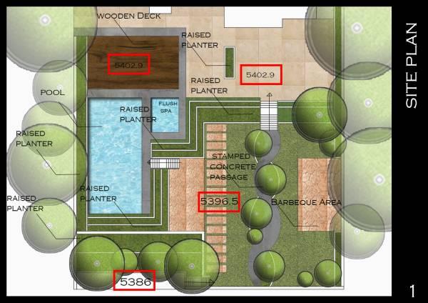 Image Backyard site plan