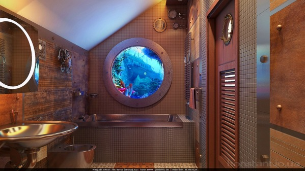 Image Bathroom bathyscaphe
