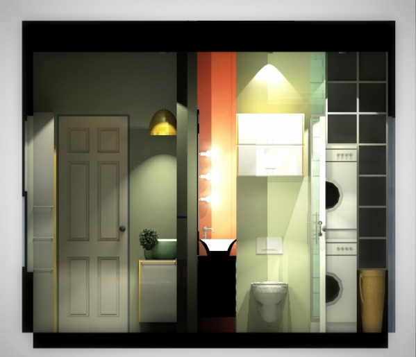 Image Guests bathroom + Mast...