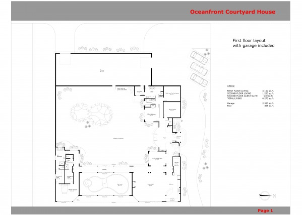 Image Oceanfront Courtyard H...