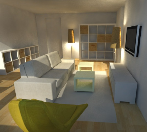 Image Living room interior d...