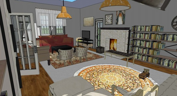 Image Living Room Floor Plan