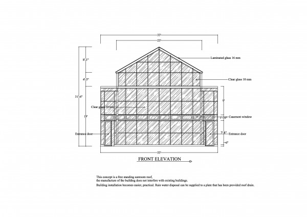 Image front elevation