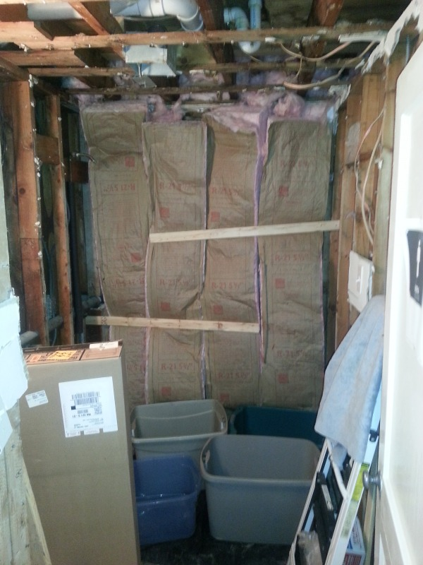 Image Bathroom Gutted