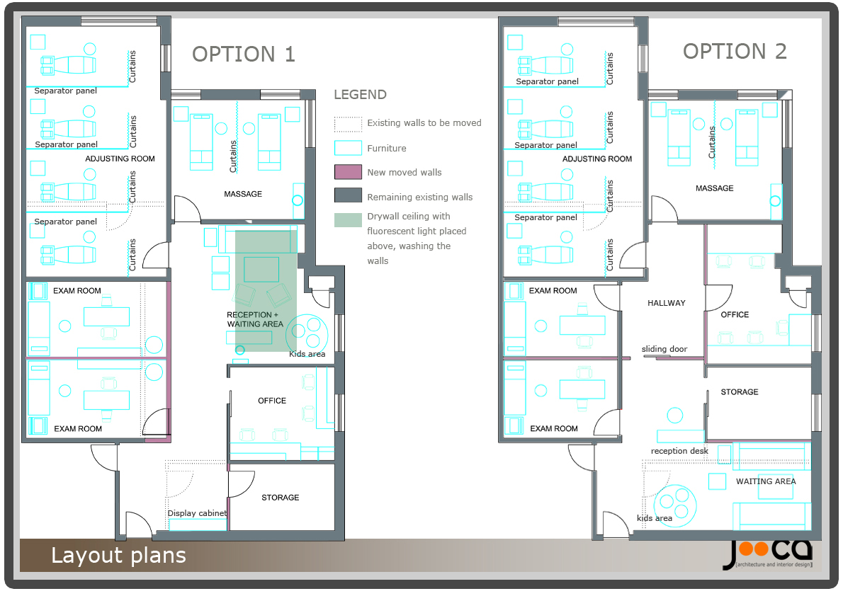 Chiropractic Office Floor Plan Samples Joy Studio Design