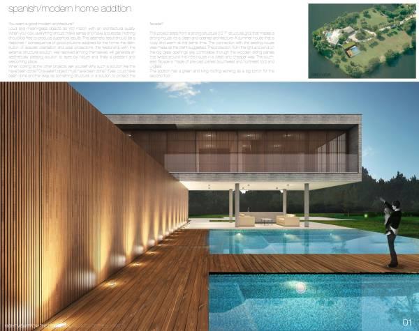 Image Spanish/Modern Home Ad...