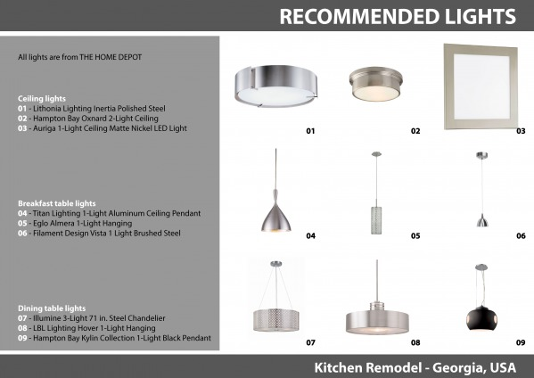 Image 17 - Recommended lights