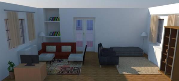 Image view towards wall havi...