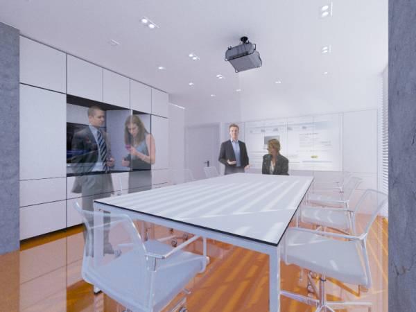 conference hall interi...