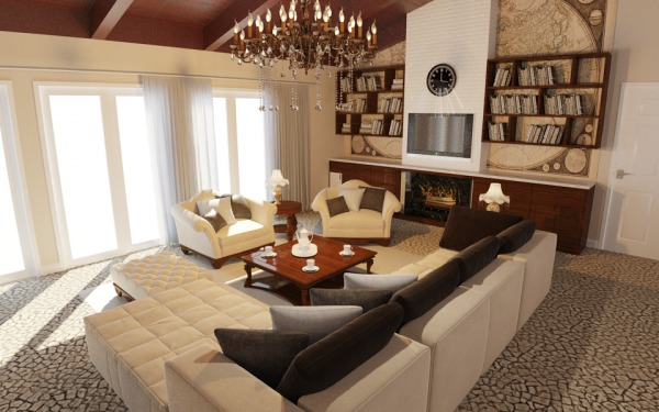 Image Great Room Interior De...