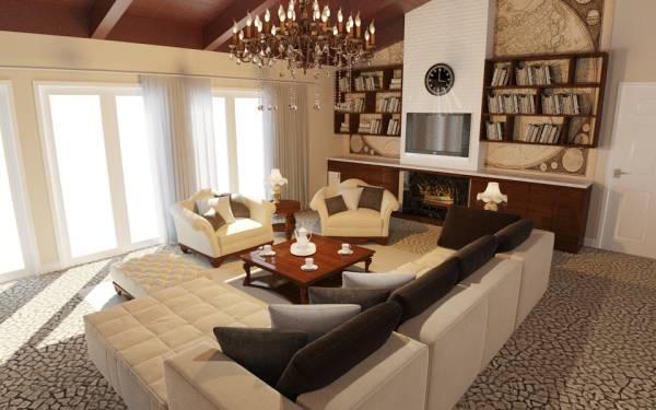 Image Great Room Interior De...