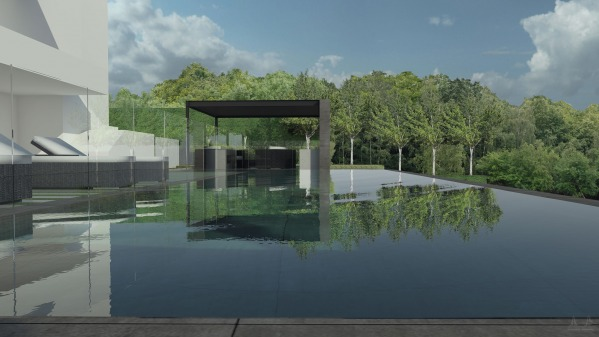 Image Modern Pool and Landsc... (2)