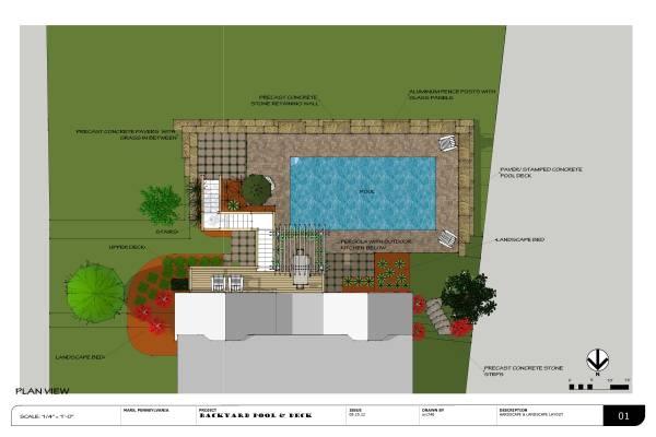 Image Backyard pool and deck (2)