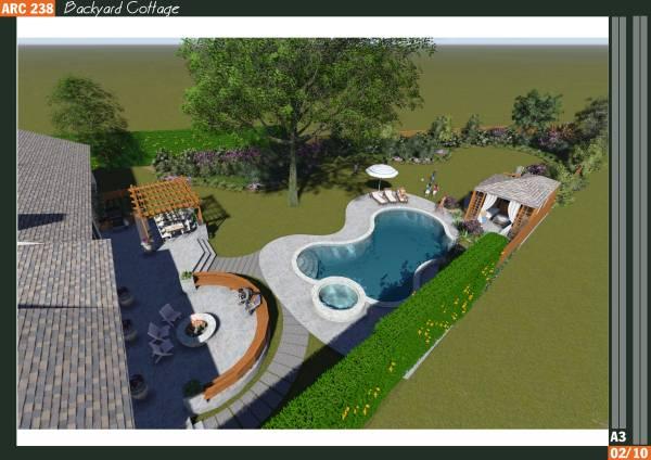 Image Backyard Cottage