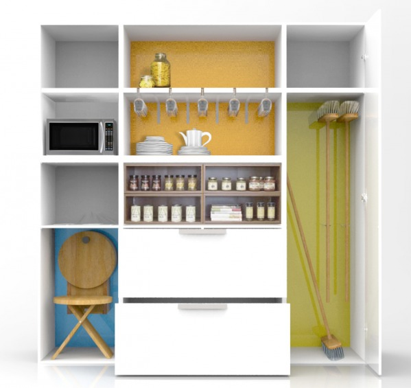 Image Built-in closet in new...