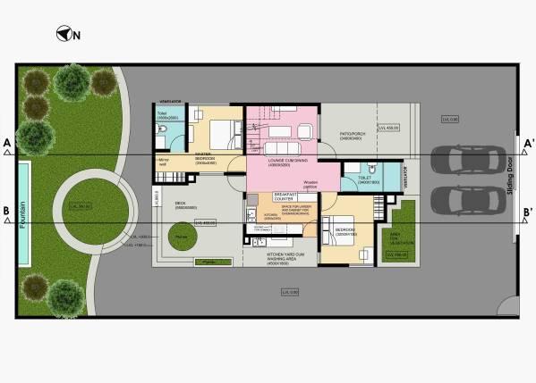 Image Elegant 2 Bedroom Hous... (1)